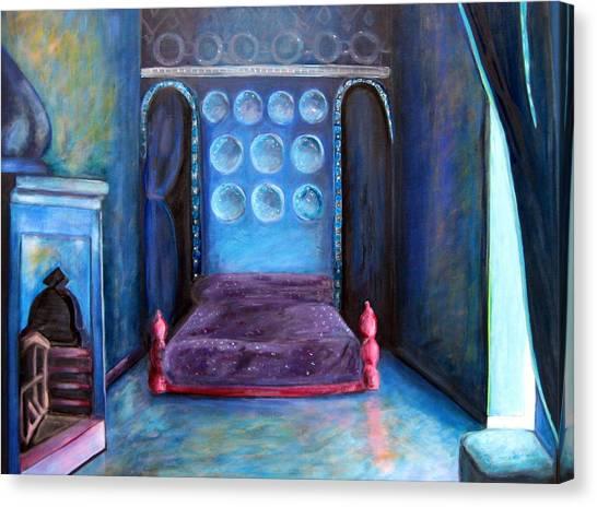 Grand Nap Canvas Print by Rebecca Merola