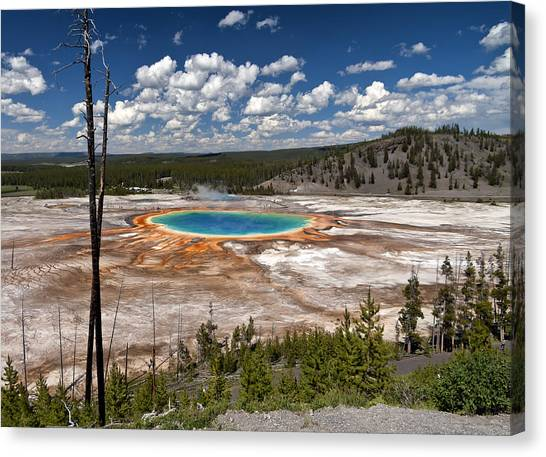 Grand Prismatic Canvas Print