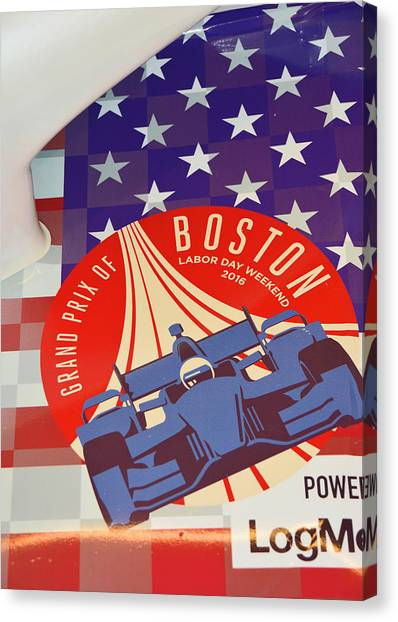Grand Prix Of Boston Canvas Print