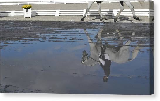 Grand Prix Reflected Canvas Print by JAMART Photography