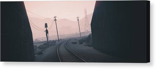 Grand Theft Auto Canvas Print - Grand Theft Auto V by Bert Mailer