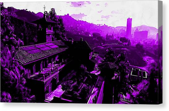 Grand Theft Auto Canvas Print - Grand Theft Auto V by Lora Battle