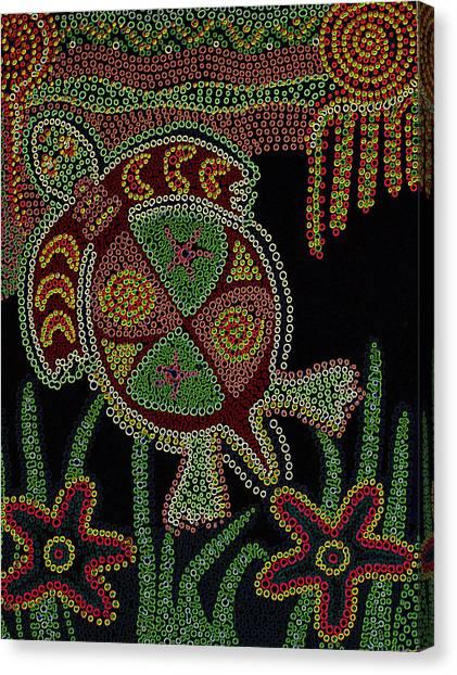Grand Turtle Canvas Print