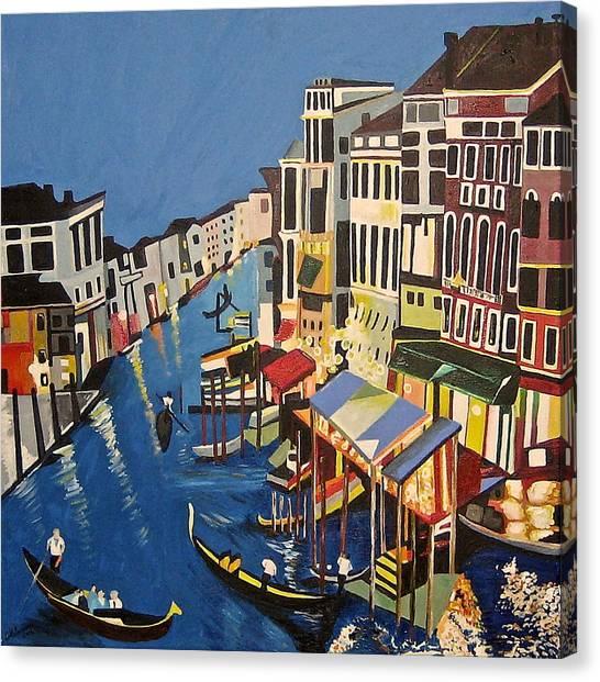 Grande Canal Canvas Print