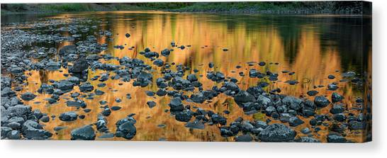 Grande Ronde Gold Canvas Print by Leland D Howard