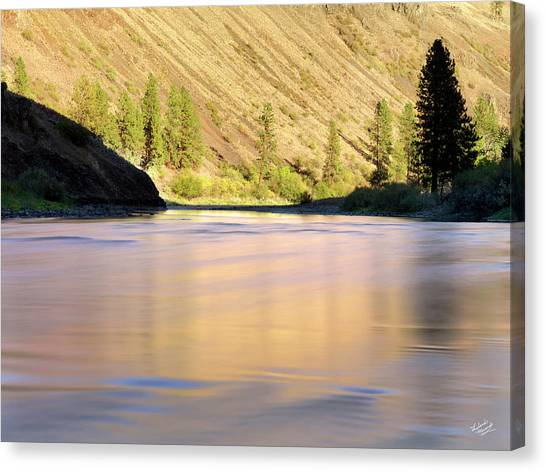 Grande Ronde River Canvas Print by Leland D Howard