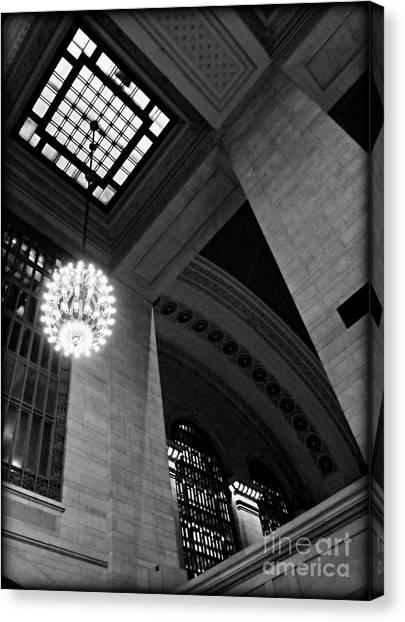 Grandeur At Grand Central Canvas Print