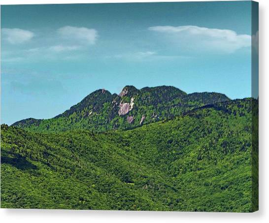 Grandfather Mountain, Nc Canvas Print by Patricia Brock