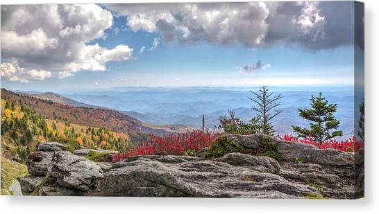 Grandfather Mountain Panorama 02 Canvas Print