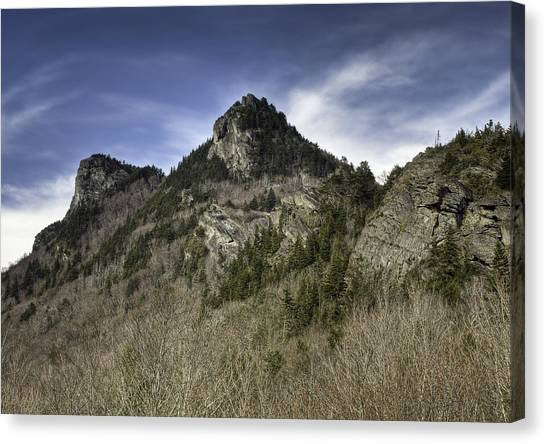 Grandfather Mt. Canvas Print by Harry H Hicklin