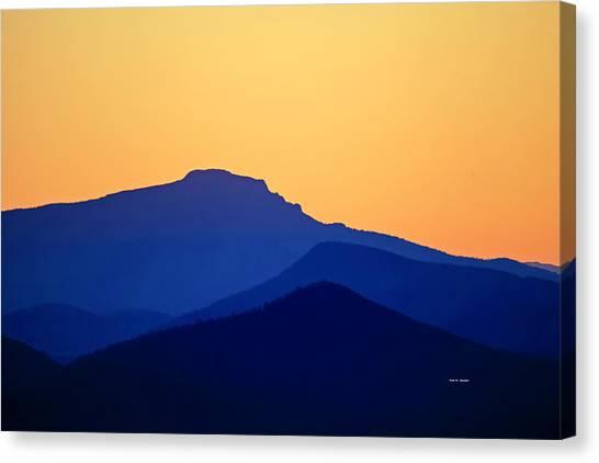 Grandfather Sunset Canvas Print