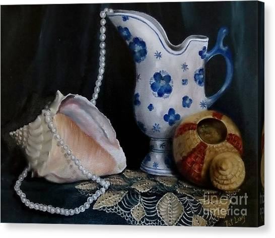 Grandma's Collection Canvas Print by Patricia Lang
