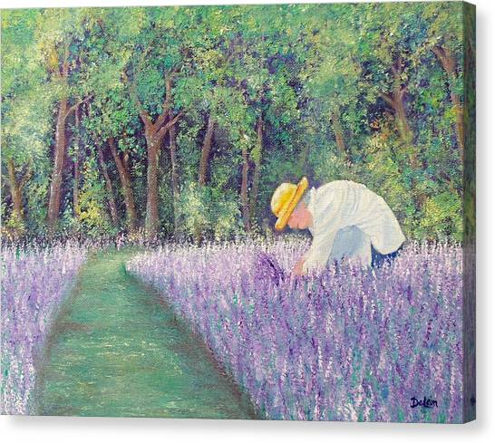 Grandma's Favorite Scent Canvas Print