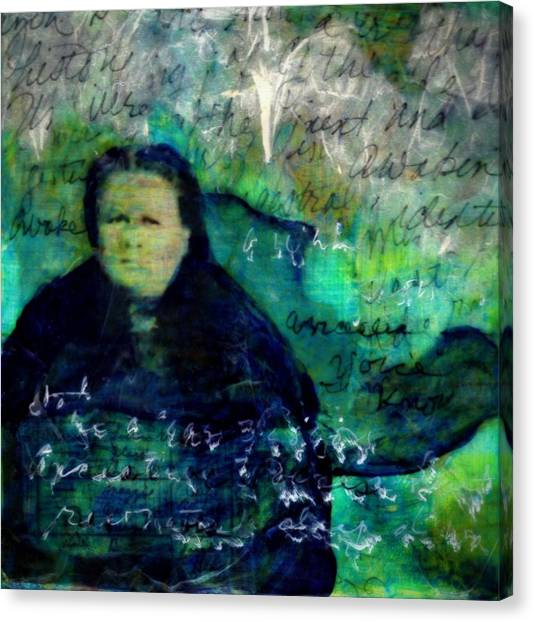 Grandmother Maggie-study Canvas Print