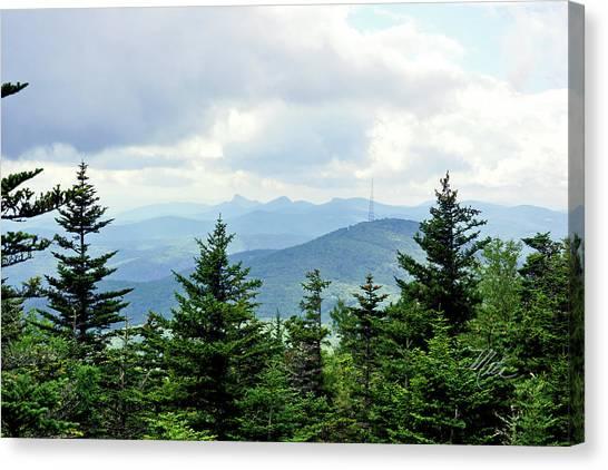 Grandmother Mountain Canvas Print
