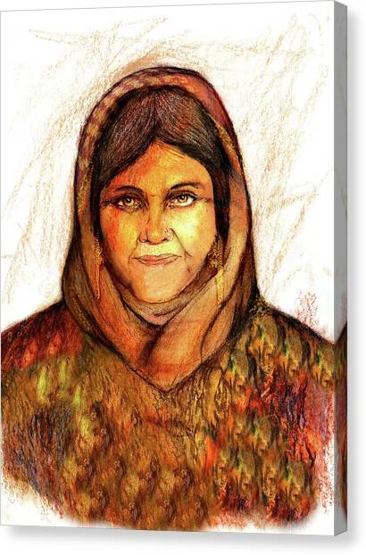 Grandmother Noora Canvas Print