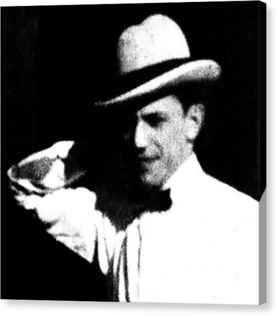 Grandpa Canvas Print - Grandpa Joe 1920s He Kept His Good by Elizabeth Whycer