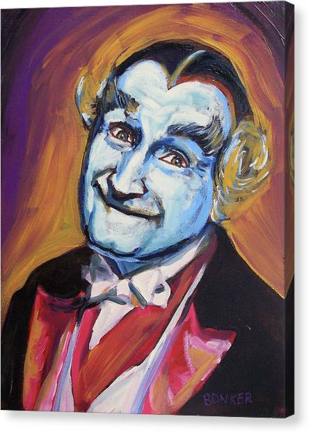 Horror Canvas Print - Grandpa Munster by Buffalo Bonker