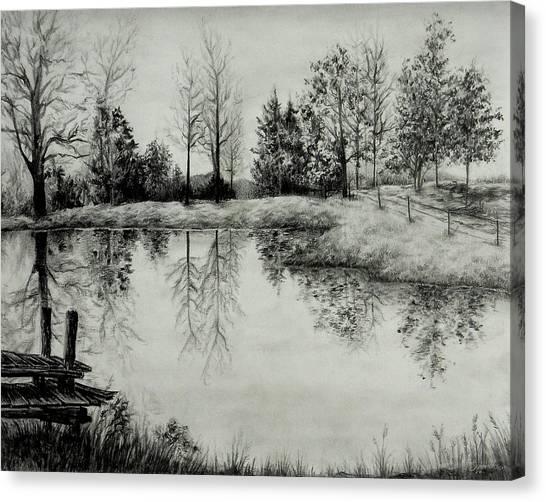 Grandpa's Pond Canvas Print