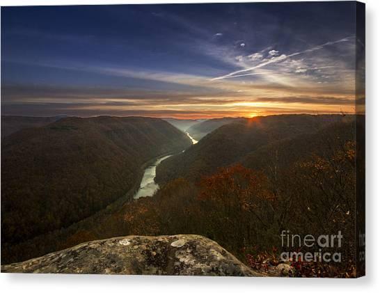 Grandview Sunrise Canvas Print