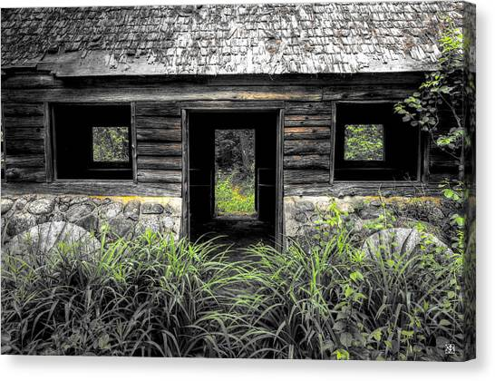 Granite House Canvas Print