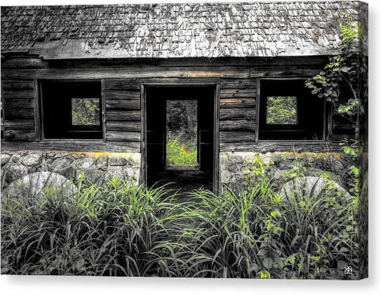 Granite House Canvas Print