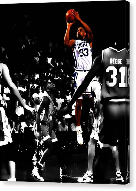 Mba Canvas Print - Grant Hill 2b by Brian Reaves