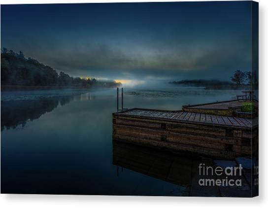 Grass Creek Sunrise 1 Canvas Print
