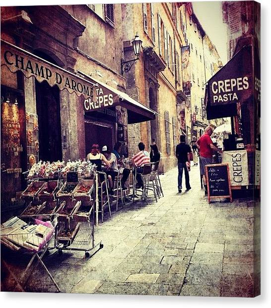 Berlin Canvas Print - Grasse, France - by Cornelia Woerster