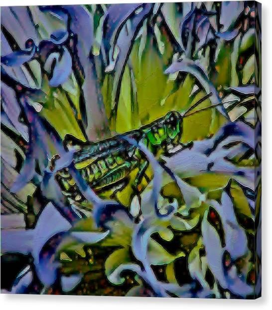 Canvas Print - Grasshopper Sanctuary by Modern Art