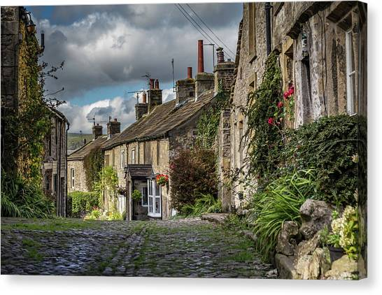 Grassington Canvas Print by Yorkshire In Colour