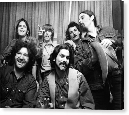 Grateful Dead Canvas Print - Grateful Dead 1970 London by Chris Walter