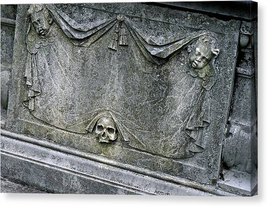 Grave Business Canvas Print by Robert Joseph