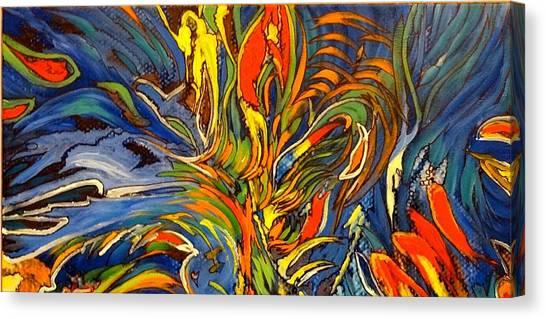 Gravity Two Canvas Print