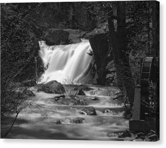 Gray Eagle Falls Canvas Print