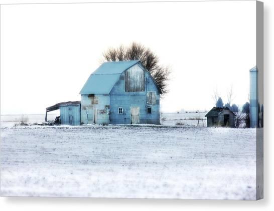 Grays Canvas Print