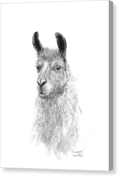 Canvas Print - Grayson by K Llamas