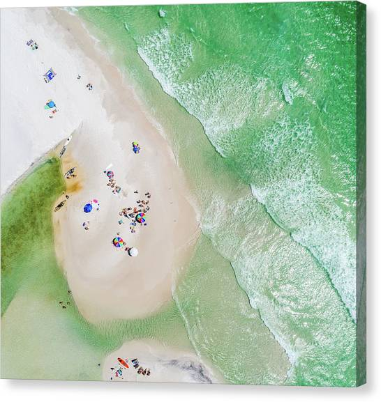 Grayton Beach Island Time Canvas Print