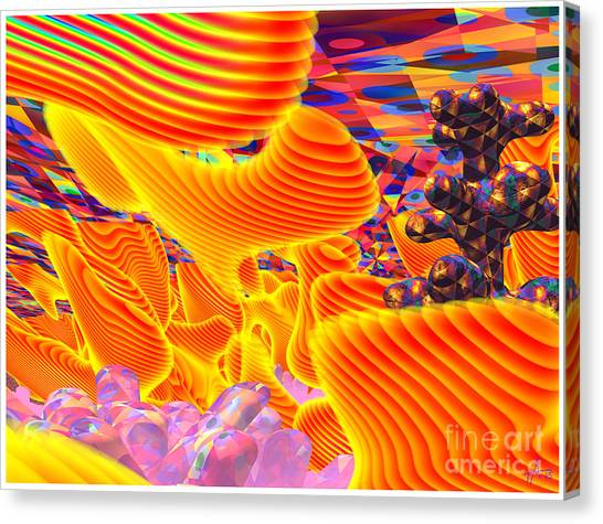 Great Art 3a Canvas Print by Terry Anderson