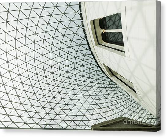 The British Museum Canvas Print - Great Court Angled by Chris Dutton
