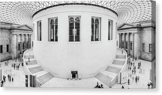 Great Court Canvas Print