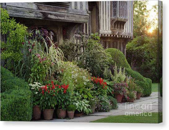 Great Dixter House And Gardens At Sunset 2 Canvas Print