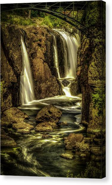 Great Falls Close Up Canvas Print