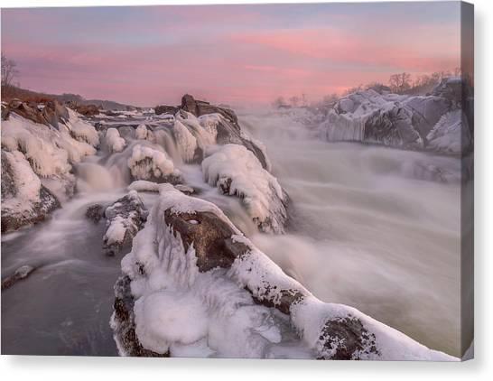 Potomac River Great Falls Virginia Canvas Print
