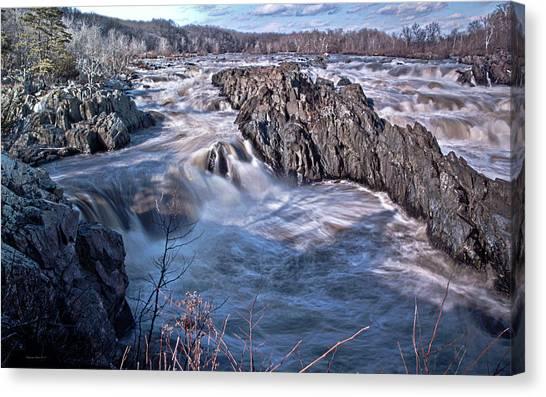 Great Falls Virginia Canvas Print