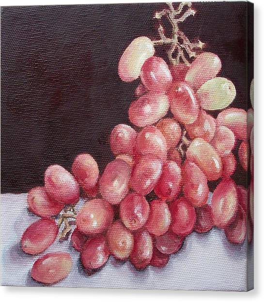 Great Grapes 2 Canvas Print by Irene Corey