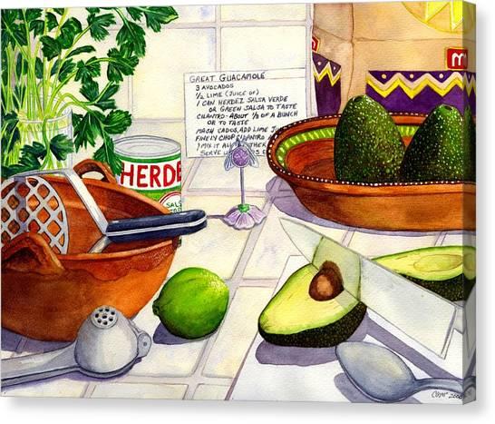 Great Guac. Canvas Print
