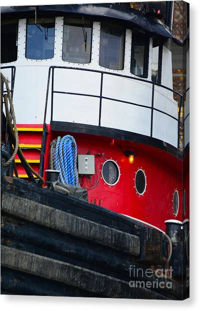 Great Lakes Tugboat Canvas Print