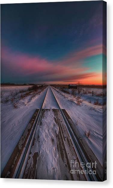 Saskatchewan Canvas Print - Great Northern Land by Ian McGregor