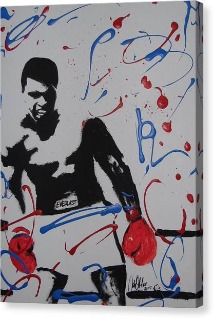 Great Ones Live On Canvas Print